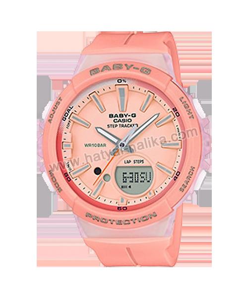 นาฬิกา Casio Baby-G for Running BGS-100 Step Tracker series รุ่น BGS-100-4A ของแท้ รับประกัน1ปี