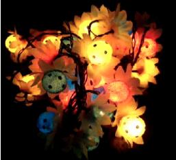 ไฟประดับดอกไม้บอลเล็กบรรจุ100ชิ้น/ลัง