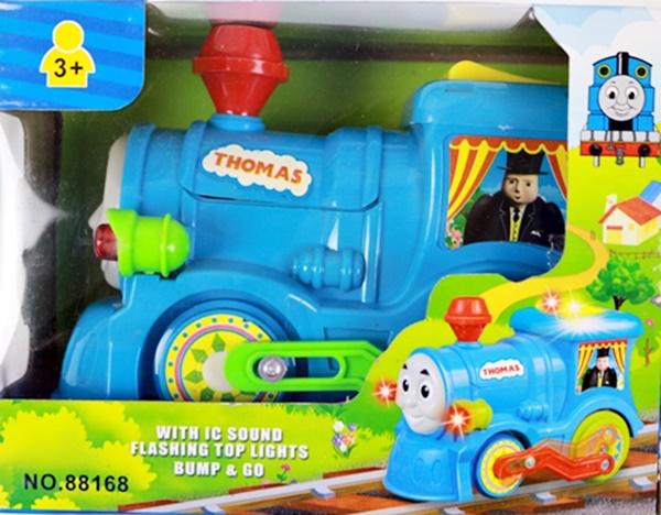 รถไฟ Thomas+มีเสียง+มีไฟ