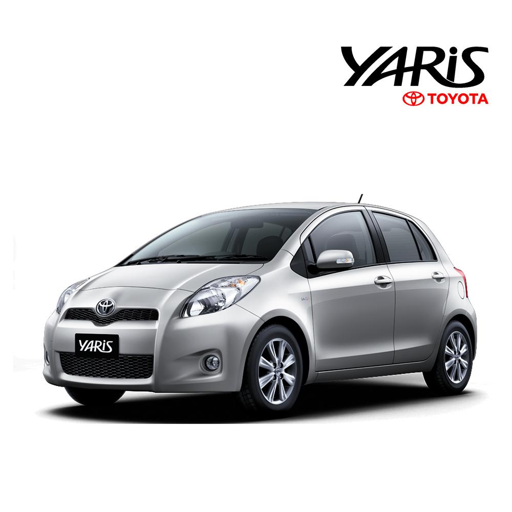พรมดักฝุ่นไวนิล ชุด Full จำนวน 14 ชิ้น Toyota Yaris 2008-2013