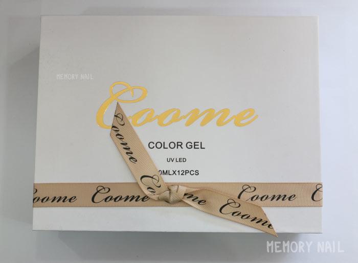 สีเจลกากเพชร สำหรับเพ้นท์เล็บ Coome Pudding