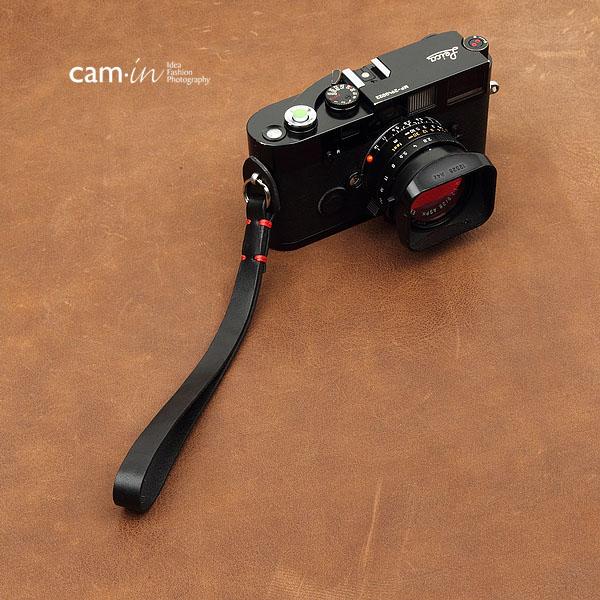 สายคล้องข้อมือกล้อง Camera Wrist Strap กล้อง Mirrorless / Leica รุ่น Simple Black สีดำ