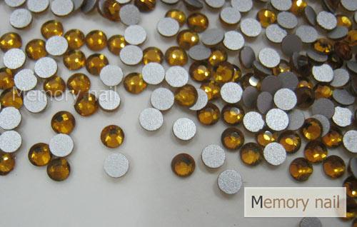 เพชรชวาAA สีน้ำตาล ขนาด ss8 ซองเล็ก บรรจุประมาณ 80-100 เม็ด