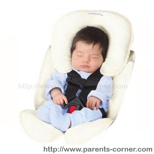 เบาะรองคาร์ซีท summer infant - ขาว