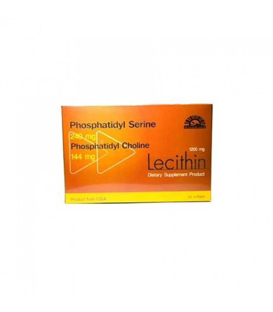 Dr.Lee and Dr.Albert Lecithin 1200 mg. 60 tablet
