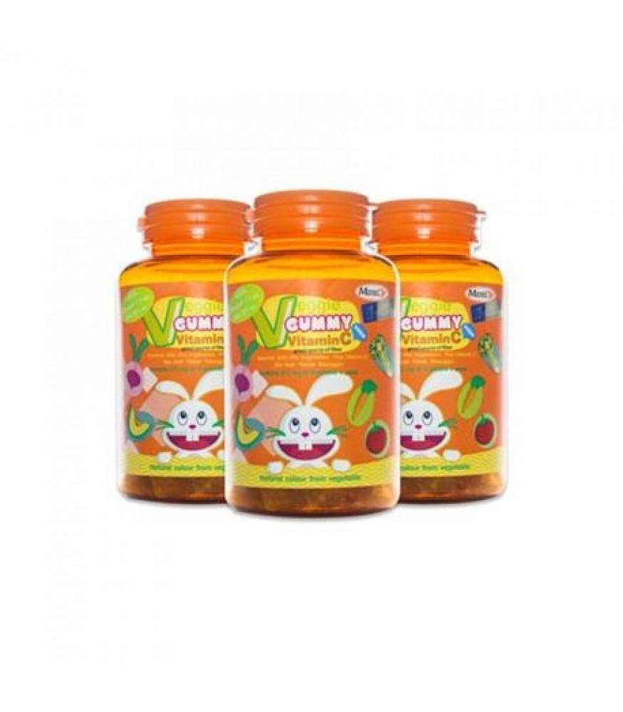 WellGate MaxxLife Veggie Gummy Vitamin C 48s