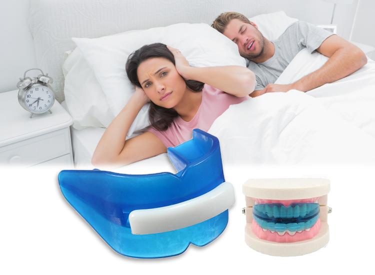 ฟันยางแก้นอนกรน นอนกัดฟัน