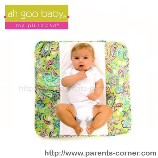 ผ้ารองเสริม Memory Foam สำหรับเปลี่ยนผ้าอ้อมแบบพกพา Ah Goo Baby - Bloom