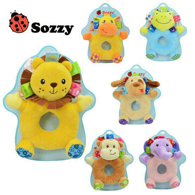 Sozzy ตุ๊กตาเขย่ามือ (0-2 ปี)