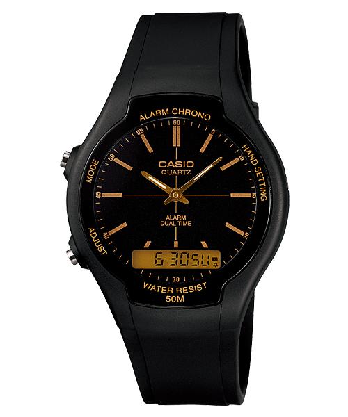 นาฬิกา คาสิโอ Casio STANDARD ANALOG-DIGITAL รุ่น AW-90H-9EV