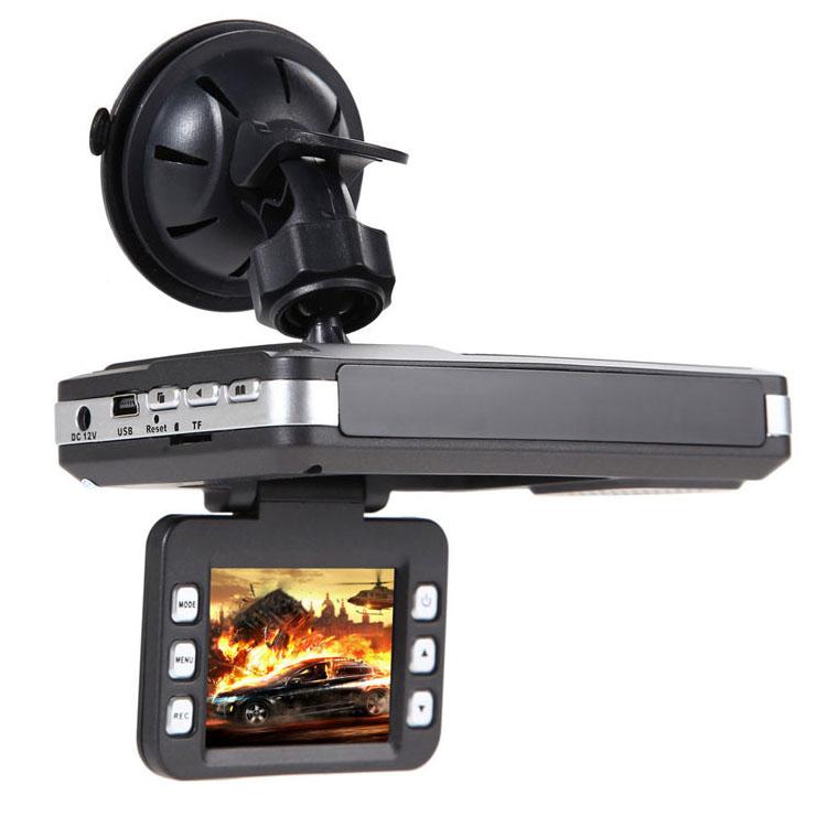 กล้องติดรถ V10 HD (+เครื่องตรวจจับกล้องจับความเร็ว)