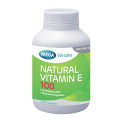 Natural Vitamin E 100 - 100's