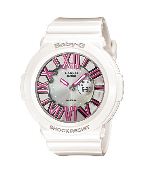 นาฬิกา คาสิโอ Casio Baby-G Neon Illuminator รุ่น BGA-160-7B2