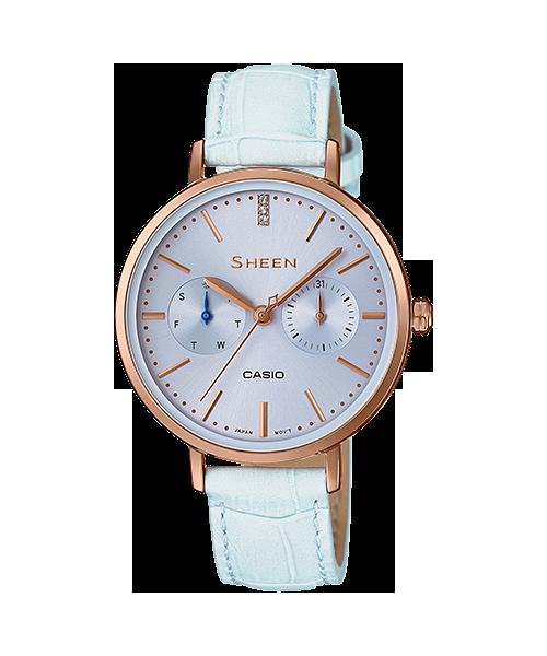นาฬิกา คาสิโอ Casio SHEEN MULTI-HAND รุ่น SHE-3054PGL-2A ของแท้ รับประกัน1ปี