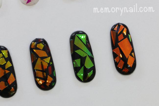 กระดาษแก้วออโรรา,Glass Aurora paper,Glass Slice Nail Art,กระดาษแก้ว,กระดาษแก้ว ติดเล็บ,สติ๊กเกอร์แก้ว,glass nail