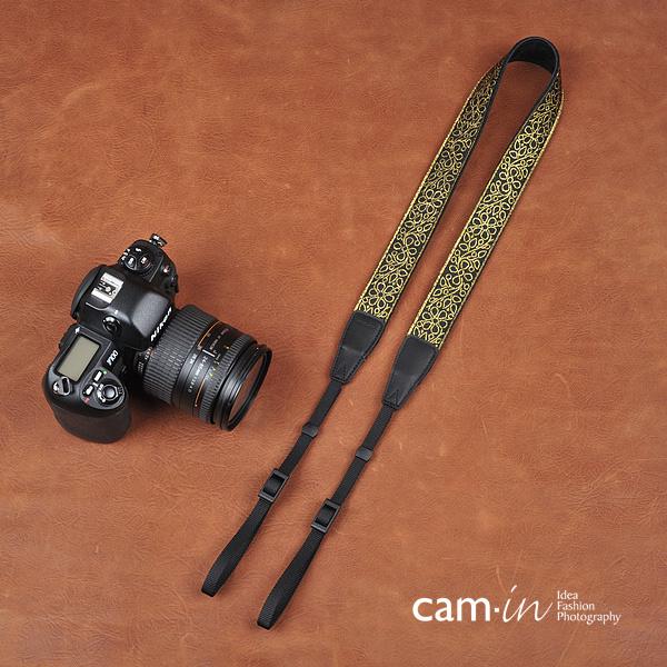 สายคล้องกล้องลายถักพืชพรรณแห่งความอุดม cam-in Golden Tree