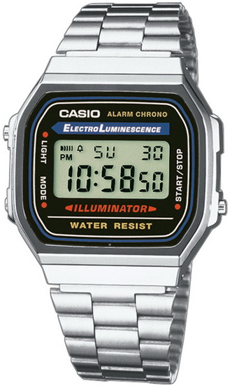 นาฬิกา คาสิโอ Casio STANDARD DIGITAL รุ่น A168WA-1W