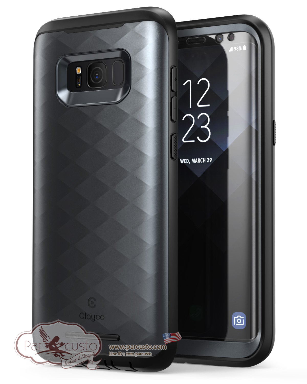 เคสกันกระแทก Samsung Galaxy S8 [Hera Series] จาก Clayco [Pre-order USA]