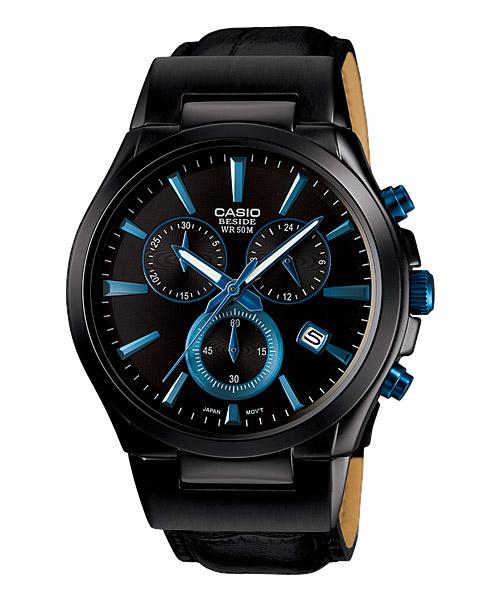 นาฬิกา คาสิโอ Casio BESIDE CHRONOGRAPH รุ่น BEM-508BL-1A