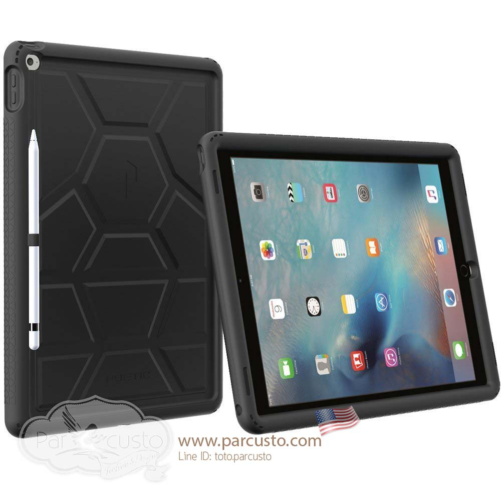 เคสกันกระแทก Apple iPad Pro [Turtle Skin Series] จาก Poetic [Pre-order USA]