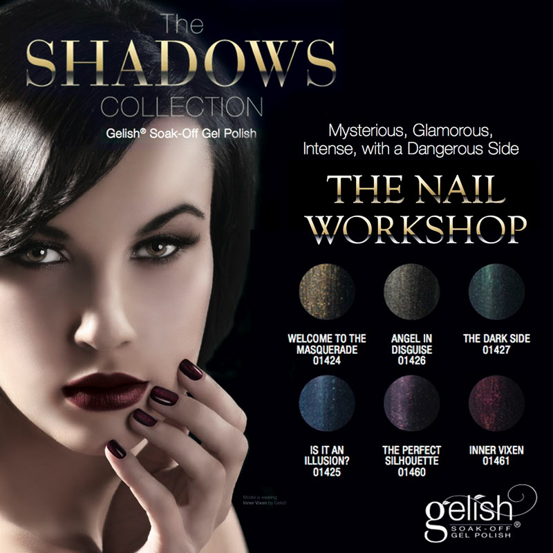 The Shadows สีเจล Harmony Collection เลือกสีด้านใน