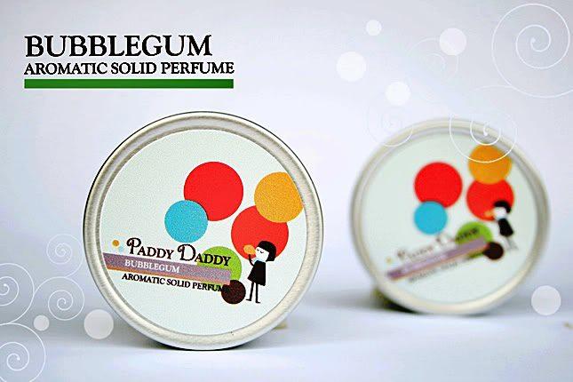 Aromatic Solid Perfume Bubblegum น้ำหอมแห้ง แพดดี้แดดดี้ กลิ่น Bubblegum