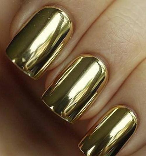 เล็บสีทอง , เล็บทอง