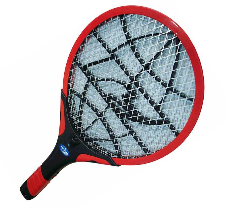 ไม้ตียุงชาร์จไฟบ้านเทนนิส มีLED 1 ดวง