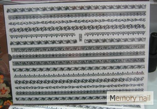 สติ๊กเกอร์ ลอกลายโดยใช้น้ำ แผ่นใหญ่ รหัส SE