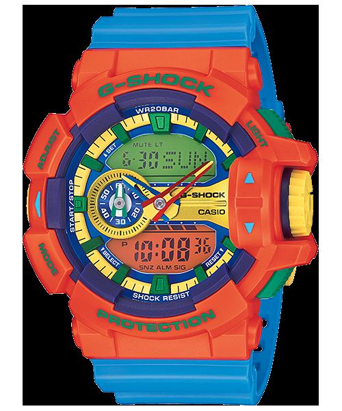 นาฬิกา คาสิโอ Casio G-Shock Standard Analog-Digital รุ่น GA-400-4A (Hyper Color)
