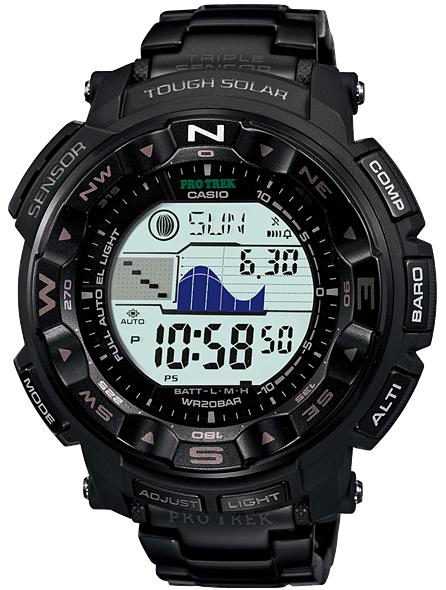 นาฬิกา คาสิโอ Casio PRO TREK DUAL-LAYER LCD รุ่น PRG-250BD-1D