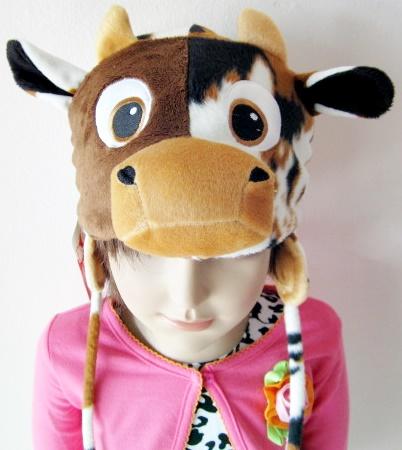 หมวกแฟนซีรูปสัตว์ปิดหู
