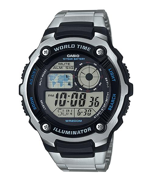นาฬิกา คาสิโอ Casio 10 YEAR BATTERY รุ่น AE-2100WD-1AV