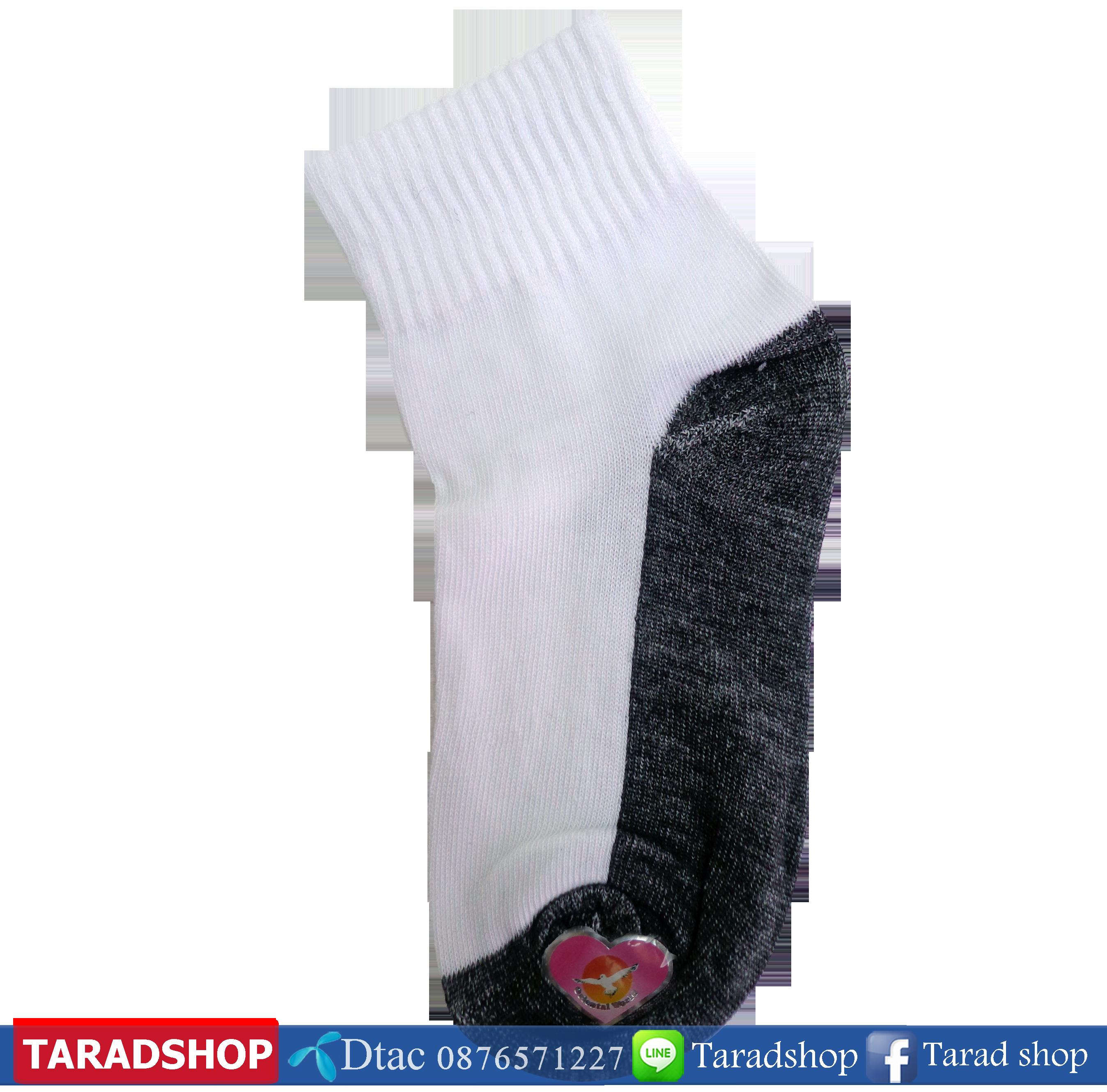 ถุงเท้าแฟชั่น ตรานก ( ชนิดแพ็ค)