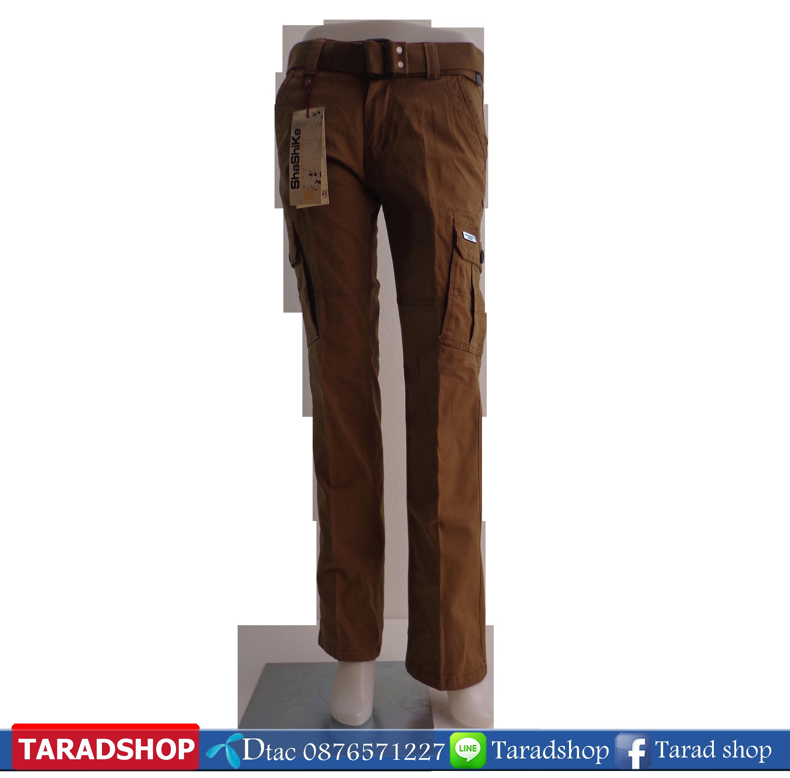 กางเกงขายาว (ผ้าพอก)