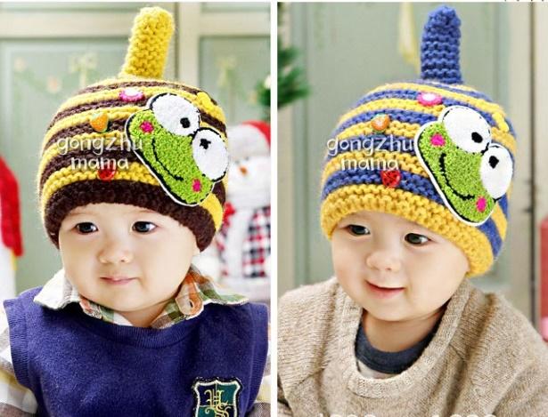 พร้อมส่ง หมวกกันหนาวเด็ก CH01-47