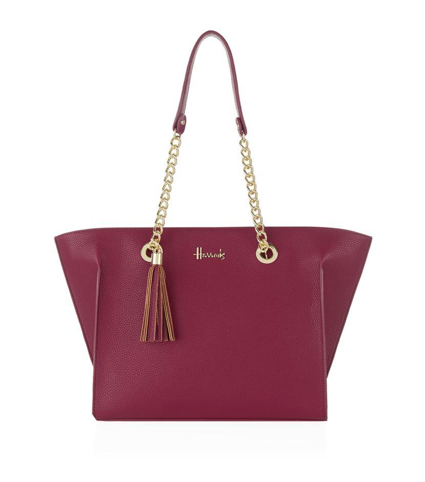 กระเป๋าสะพายแฮร์รอดส์ของแท้ Harrods Rosanna Shoulder Bag