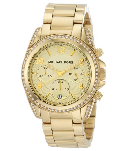นาฬิกา Michael Kors ไมเคิล คอร์ รุ่น MK5166 Golden Runway Watch with Glitz