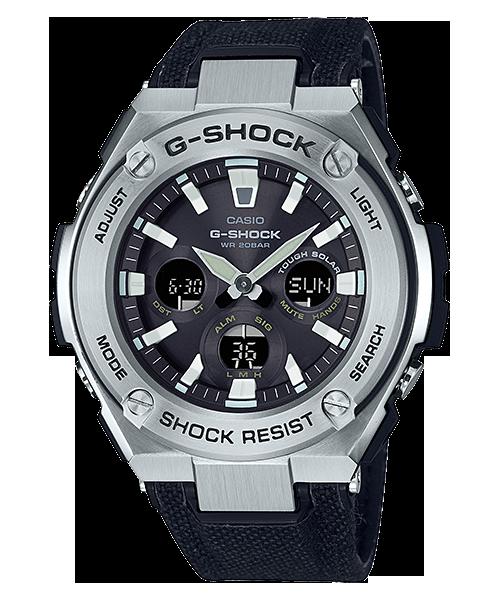 นาฬิกา Casio G-Shock G-STEEL มินิ รุ่น GST-S330C-1A (สายผ้า CORDURA) ของแท้ รับประกัน1ปี