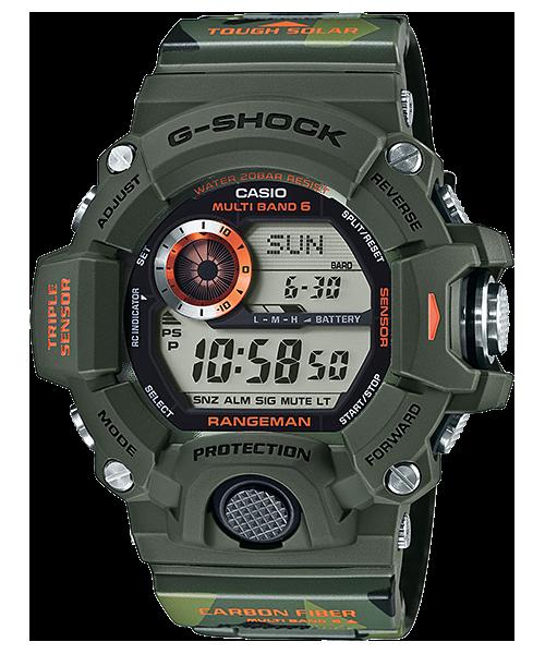 """นาฬิกา คาสิโอ Casio G-Shock RANGEMAN Limited รุ่น GW-9400CMJ-3JR แมวลายพราง """"Men in CAMOUFLAGE"""" (่นำเข้า JAPAN)"""