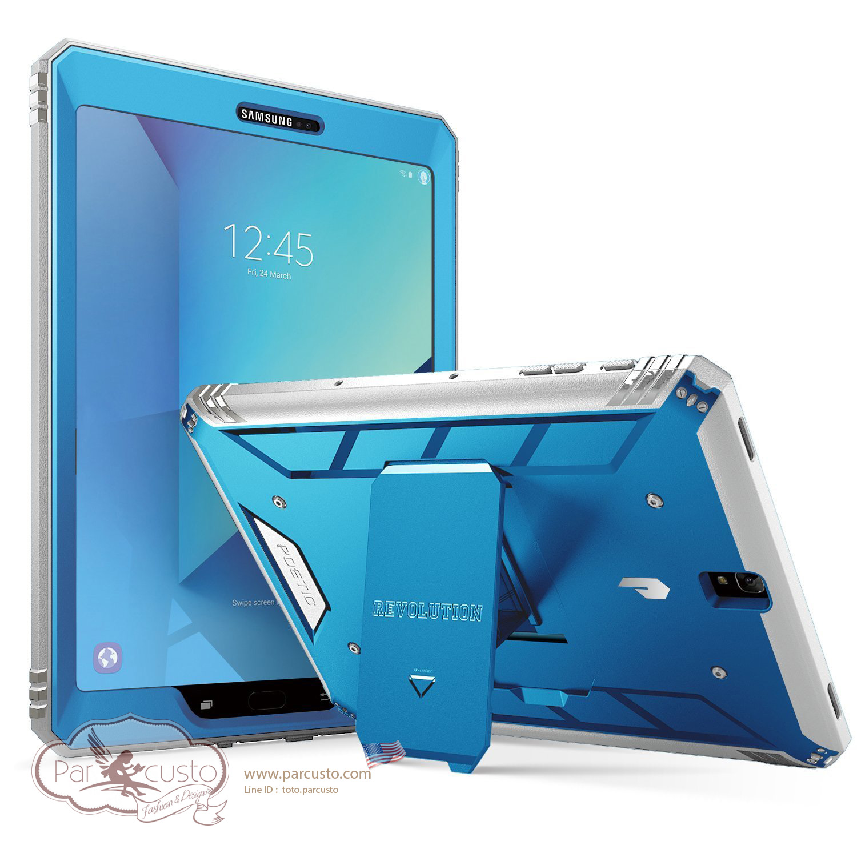 เคสกันกระแทก Samsung Galaxy Tab S3 9.7 [Revolution] จาก Poetic [Pre-order USA]