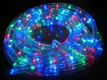 ไฟท่อ LED 2 สาย กลม สีสลับ เกรด A