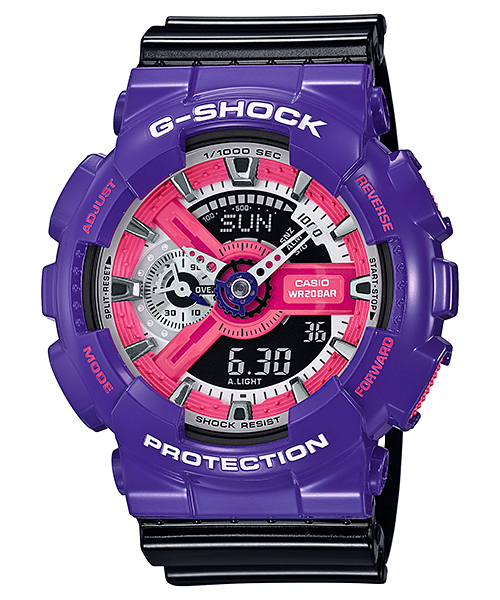 นาฬิกา Casio G-Shock Standard Analog-Digital Neo Color series รุ่น GA-110NC-6A ของแท้ รับประกัน1ปี