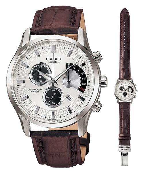 นาฬิกา คาสิโอ Casio BESIDE CHRONOGRAPH รุ่น BEM-501L-7A