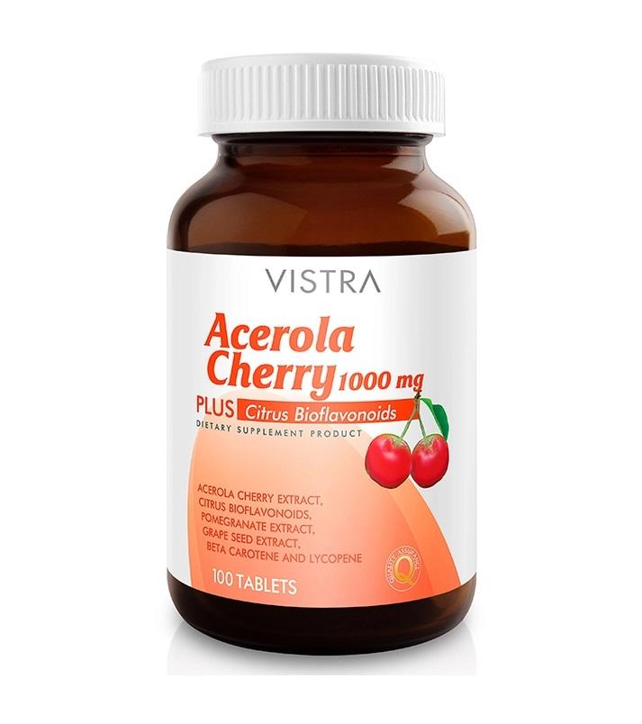 Vistra Acerola Cherry 1000mb 100's