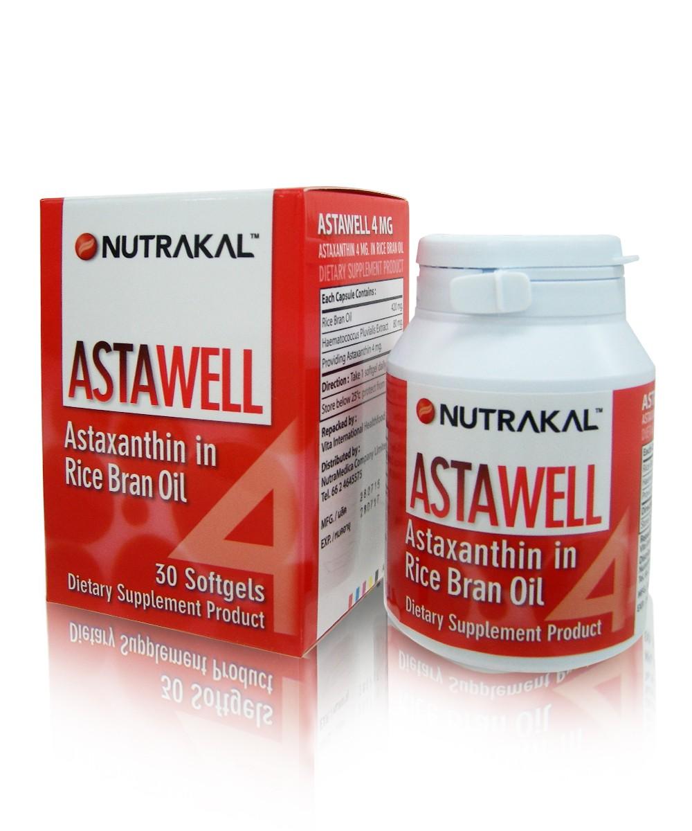 Nutrakal Astawell 2 mg. นูทราแคล แอสตาเวล 60 เม็ด สำเนา
