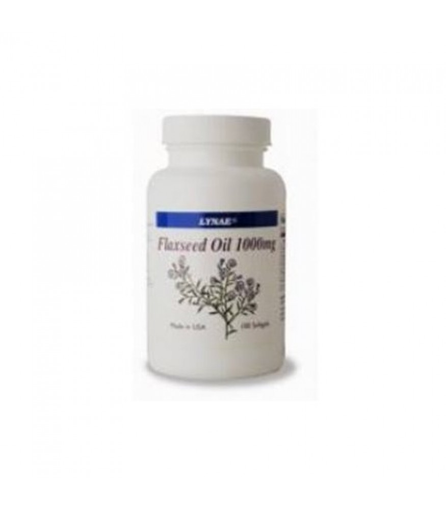Lynae Flaxseed Oil 1000 mg. 100 tablet