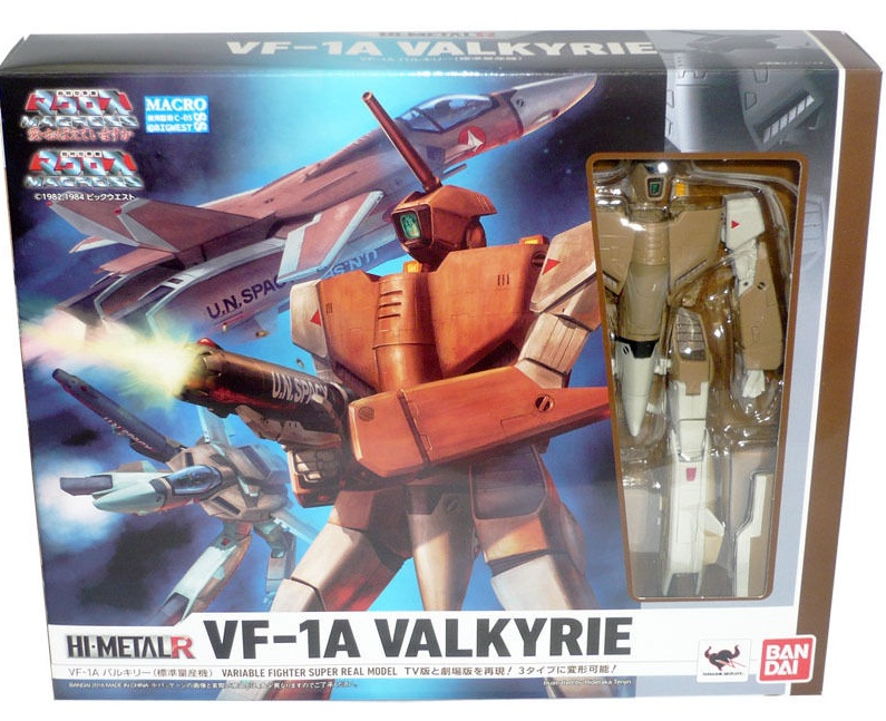 HI-METAL R The Super Dimension Fortress Macross VF-1A Valkyrie [ Pre-owned ]