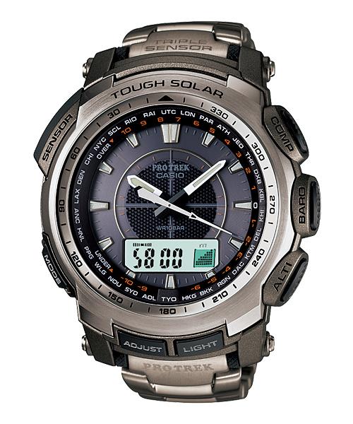 นาฬิกา คาสิโอ Casio PRO TREK ANALOG INDICATOR รุ่น PRG-510T-7