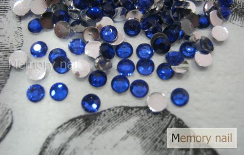 เพชรธรรมดา สีน้ำเงิน ขนาด 3 มิล